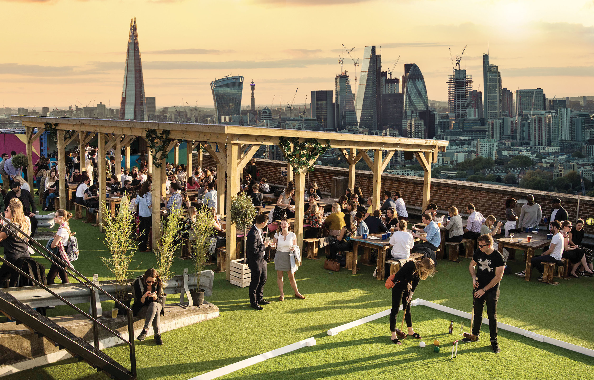 10 of the Best London Rooftop Bars for After Work Drinks ...